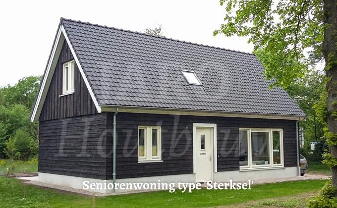 Seniorenwoning van hout snelle levering for Goedkoop vrijstaand huis bouwen